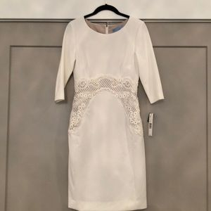 White Antonio Melani dress- beautiful fit!